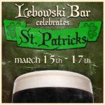 St Patrick's Day 2019 at Lebowski Bar