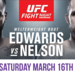 UFC Fight Night 147 – Edwards vs Nelson