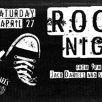 Rock Night April 27th (free entry)