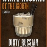White Russian of the Month – October