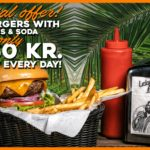 Burger menu offer